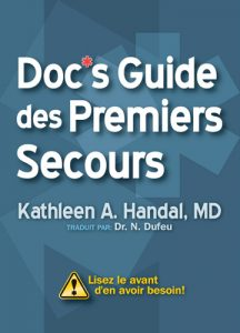 """OUT-French Version of """"Doc's First Aid Guide"""""""