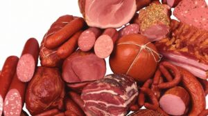 Dementia Associated with diet of processed meats